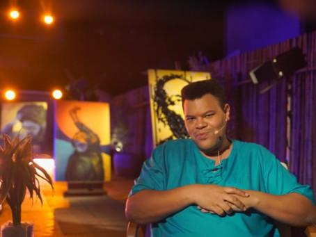 'Sarau do Paizão': Babu Santana lança projeto que homenageia a poesia preta brasileira