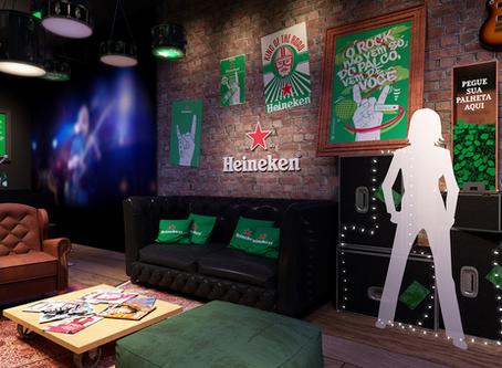 House of Rock, Lounge: as ativações da Heineken para o Rock in Rio