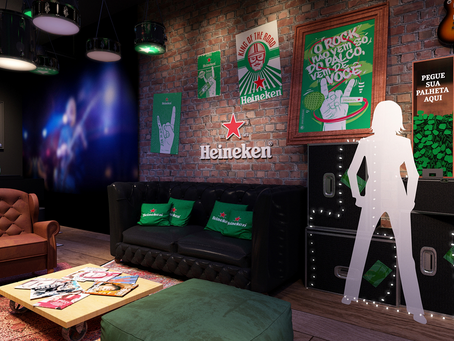 House of Rock, Lounge: as ativações da Heineken para o Rock in Rio