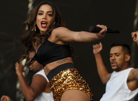 Rock in Rio Lisboa: Anitta faz show coreografado e repleto de sucessos