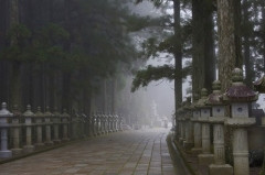 高野山・山上の大伽藍と小辺路