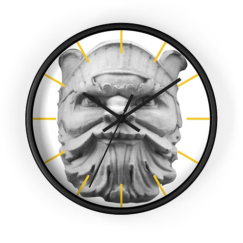 "Wall clock ""Beacon Man"""