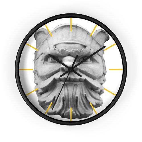 """Wall clock """"Beacon Man"""""""