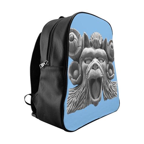 "School Backpack ""Hippy Monkey"""