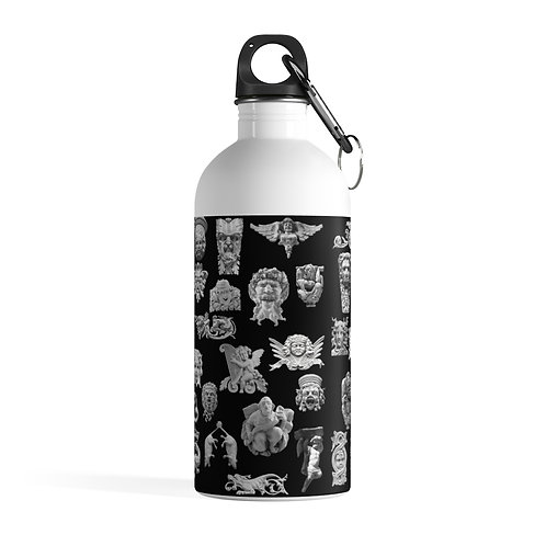 Faces of The Upper West colllage Stainless Steel Water Bottle