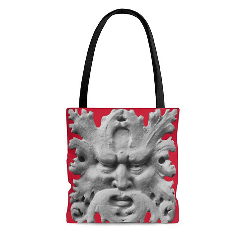 Leafy Man Tote Bag from Faces of The Upper West