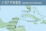 Regent Luxury Caribbean Map