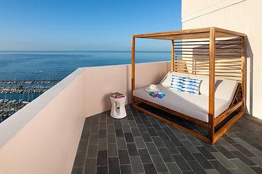 Ocean view room waikiki