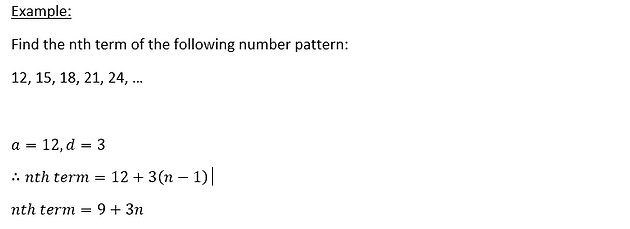 O-Levels E-Math: Number Patterns and Sequences