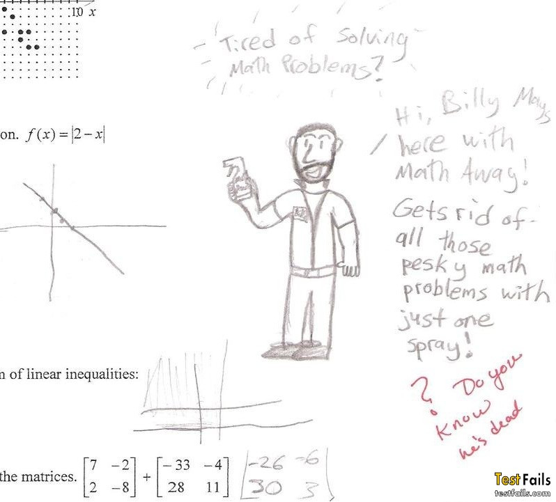 Best Solution for Math problems, Math Fail