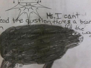 Math Fail! When Students Give Up on Math! (Part 2)