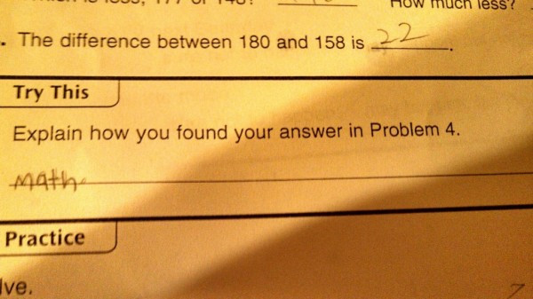 Math is the Solution to all problems!