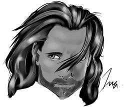 Vigo Mortensen Quick Sketch