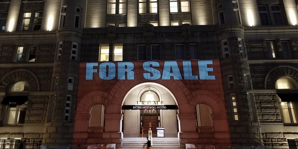 Save the USPS at Old Post Office (now Trump Hotel) hosted by Move-On