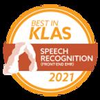 Nuance Medical One - Best in KLAS 2021