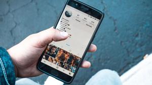 página do instagram