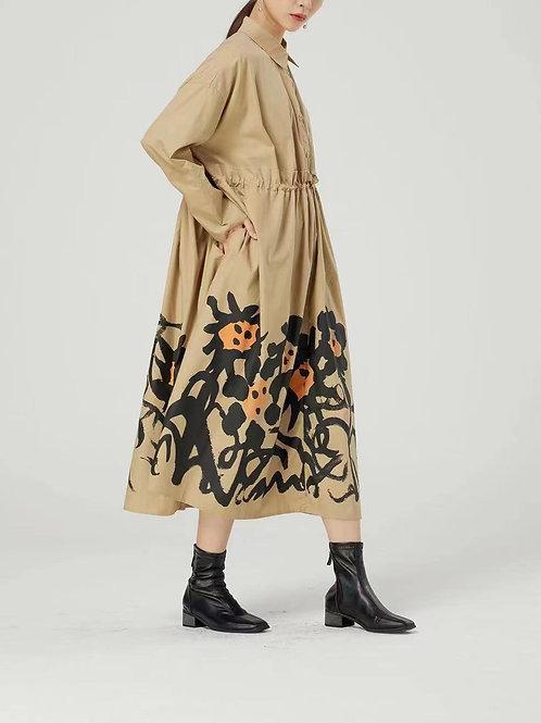 65661 -  tan - dress