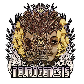 Neurogenesis logo design by Kuro Cabra Studios