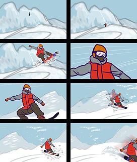 Kootenay EcoSociety storyboard page 1 by Kuro Cabra Studios