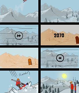 Kootenay EcoSociety storyboard page 3 by Kuro Cabra Studios