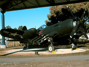 F4U-5NL 122189 at Flying Leatherns Museum
