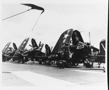 F4U-4B on the  USS Philippine Sea (CV-47)