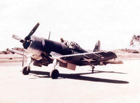 Marine F4U-1 Corsair