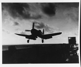Vought F4U-4B Corsair, of Fighter Squadron 114 (VF-114)