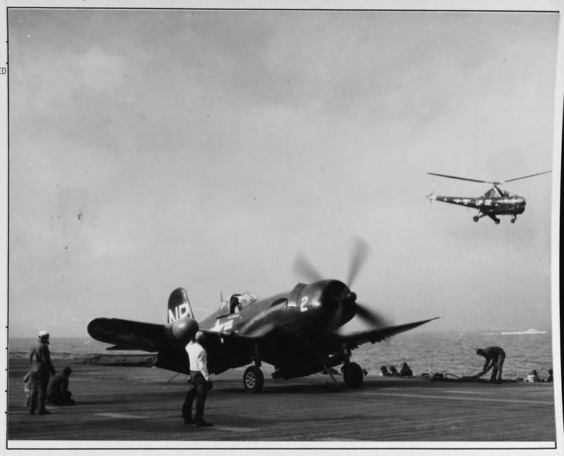 "Vought F4U-5N ""Corsair"" night fighter"