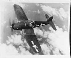 "Vought F4U-1A ""Corsair"" Fighter (Bu# 55995)"