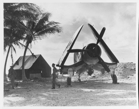 """Vought F4U-1D """"Corsair"""" fighter"""