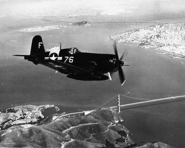Vought F4U-4 NART Oakland