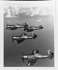 "Vought F4U-5 ""Corsair"" fighters"