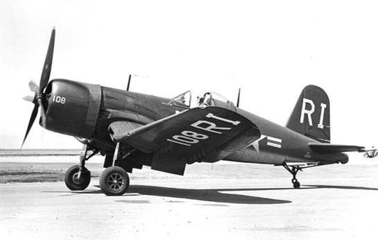 Vought F4U-4 Corsair BuNo 97072