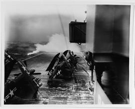 F4U-N Corsair on the USS Oriskany (CVA-34)