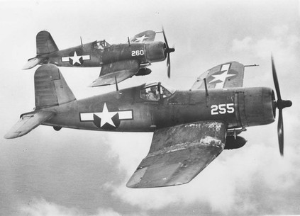 F4U-1A Corsairs of Marine Squadron VMF-224