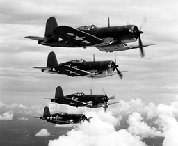 F4U-1 Corsair fighters