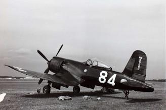 Goodyear F2G Super Corsair , No. 84, NX5588N