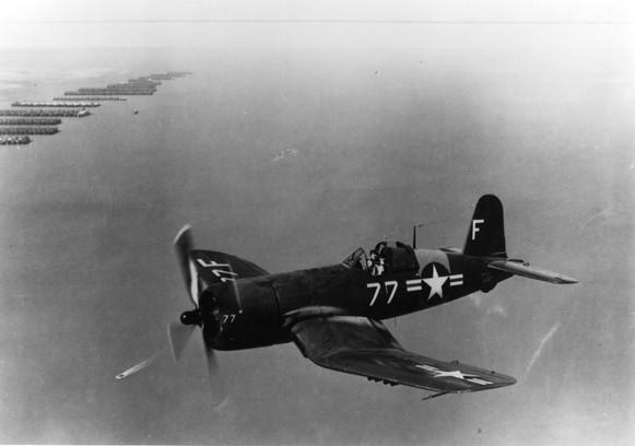 Vought F4U-4 Corsair BuNo 8667