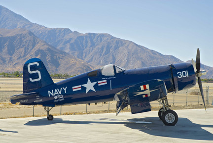 Goodyear FG Corsair at the Palm Springs Air Museum