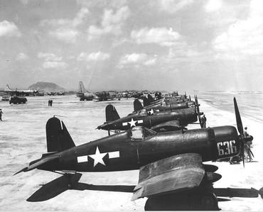 FG-1D Corsairs from Marine Air Wing