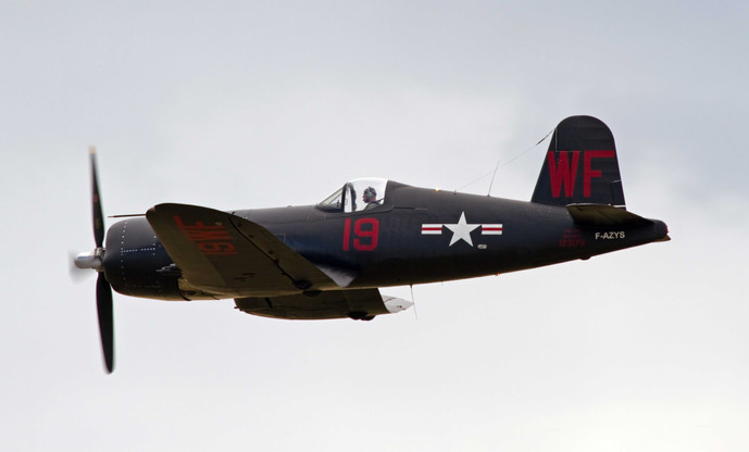 Vought Corsair F4U-7 BuNo 124541