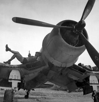 F4U-1 from VMF-222 in 1944
