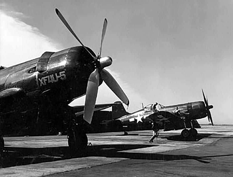 XF4U-5 Vought Corsair