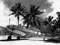 F4U-1 Corsair fighter, Espiritu Santo