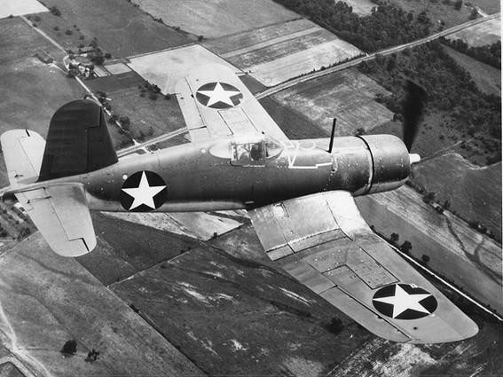 U.S. Navy Brewster F3A-1 Corsair