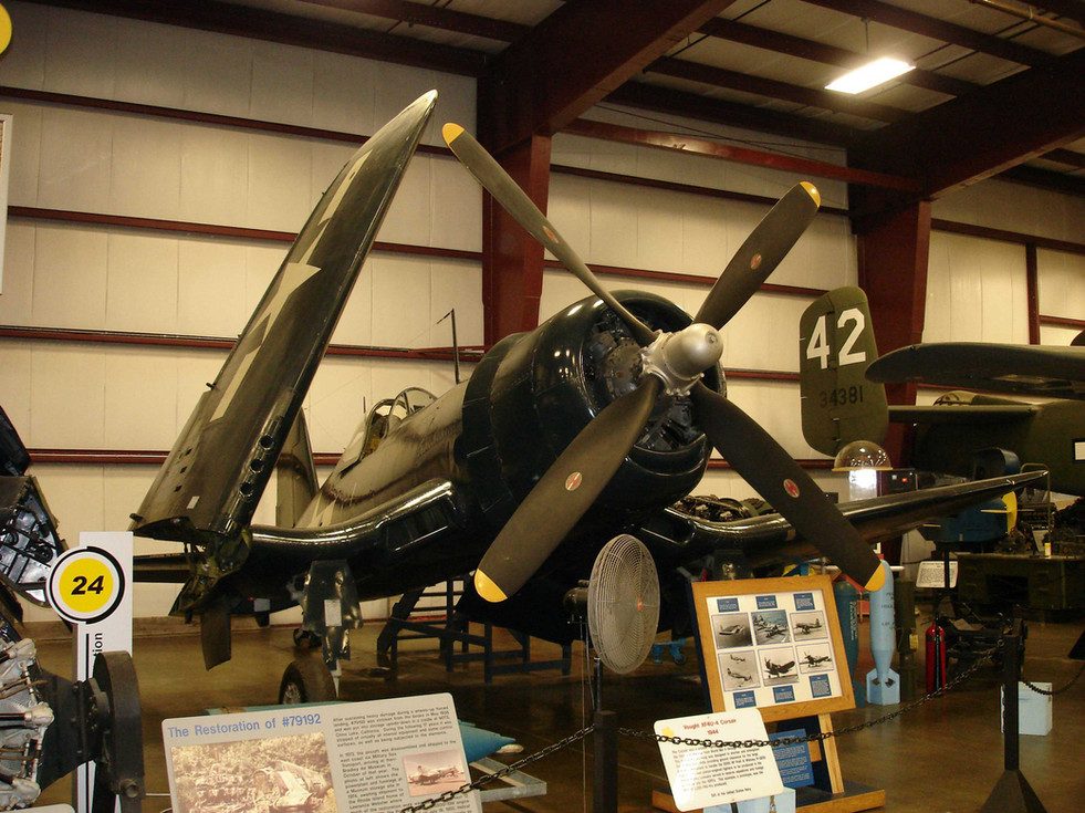 Vought XF4U-4 Corsair with BuNo 80759  at NEAM