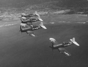 FG-1D Corsairs of Marine-Squadron VMF-213