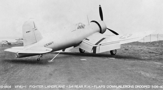 XF4U-1 Vought Corsair prototype