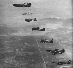 A F4U-5P Corsair photo of the U.S. Navy photo reconnaissance planes in use in the early 1950s